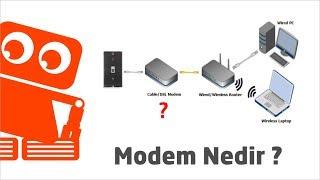 Modem Nedir? Ne İşe Yarar? Modem Nasıl Çalışır? Splitter Ne İşe Yarar?