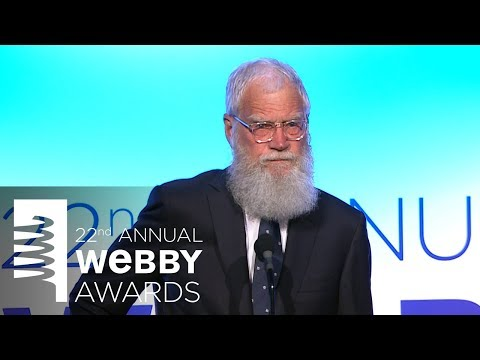 Amber Ruffin presents David Letterman with a Special Achievement