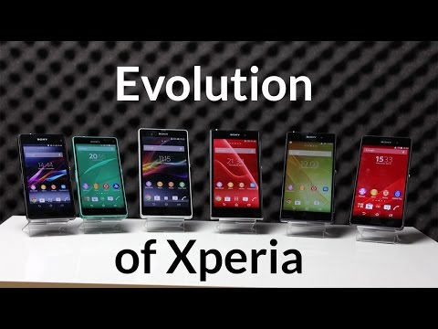 The Evolution Of Sony Xperia Z Smartphones