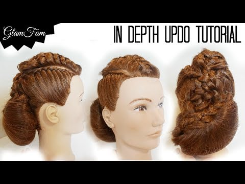 Detailed Updo Tutorial for beginners | Prom Hairstyles | Wedding Hairstyles