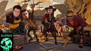 Piráti z Kex crew | Sea of Thieves #1 | @MarweX @Morry @DeeThane @DejvikGOD