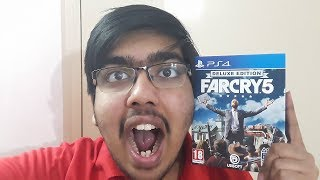 FAR CRY 5 DELUXE SPECIAL EDITION (PS4 Pro) Unboxing || Indian Unboxing
