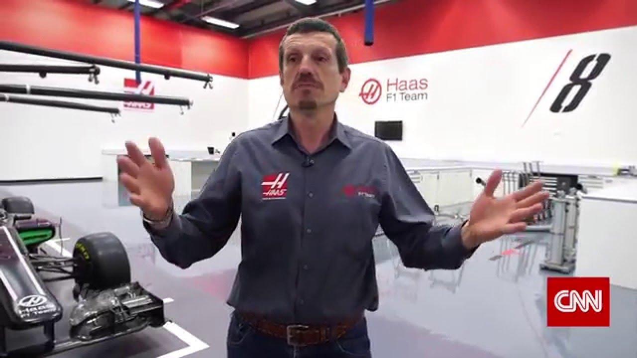 Cnn International S The Circuit Tours Haas F1 Team Banbury Facility Youtube