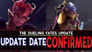 Dota 2 Dueling Fates Update Release Date CONFIRMED by SirActionSlacks and Purge!!!
