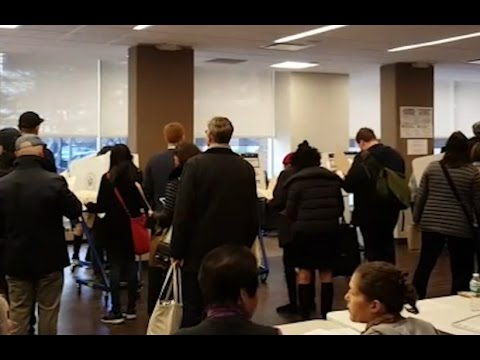 US polls 2016: On the trail with Akil Yunus - New Yorkers begin voting