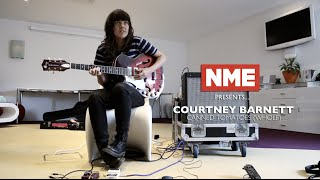 Courtney Barnett plays