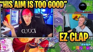 NINJA EXPLAINS POURQUOI il pensait que TFUE était un HACKER! (Moments FUNNY Fortnite)