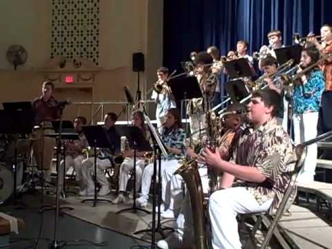 Glen Cove Finley Middle School Jazz Band Spring Concert 2011