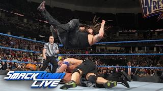 John Cena vs. Bray Wyatt vs. AJ Styles - WWE Title Triple Threat Match: SmackDown LIVE, Feb 14, 2017