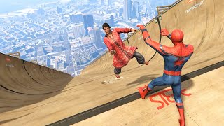 GTA 5 Epic Ragdolls | Spider-Man ep.60 (Euphoria Physics)