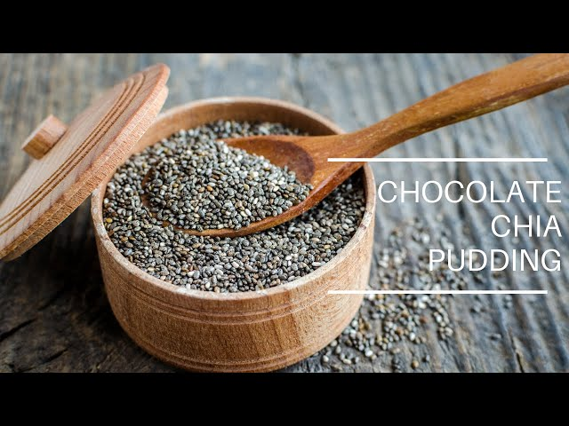 Quarantine Cuisine: Chocolate Chia Pudding