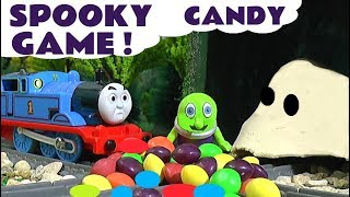 Thomas and Friends Spooky Candy Game with the funny Funlings - Fun toy story for kids TT4U