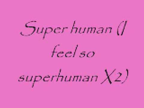 Superhuman Lyrics  Chris Brown Ft  Keri Hilson