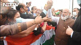 PM Modi US Visit | Watch: PM Modi Greets Indian Community At Joint Base Andrews