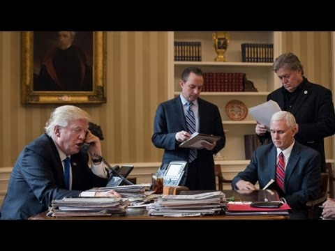 White House staff try to move past infighting