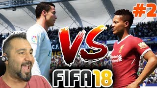 C. RONALDO ALEX HUNTER'E KARŞI EFSANE MAÇ! | FIFA 18 YOLCULUK #2