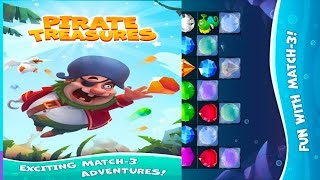🐚👍Pirate Treasures-By OrangeApps Games Puzzle - iOS/Android