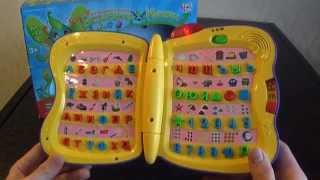 Видео обзор детская игрушка - Азбука Волшебная книжка Joy Toy