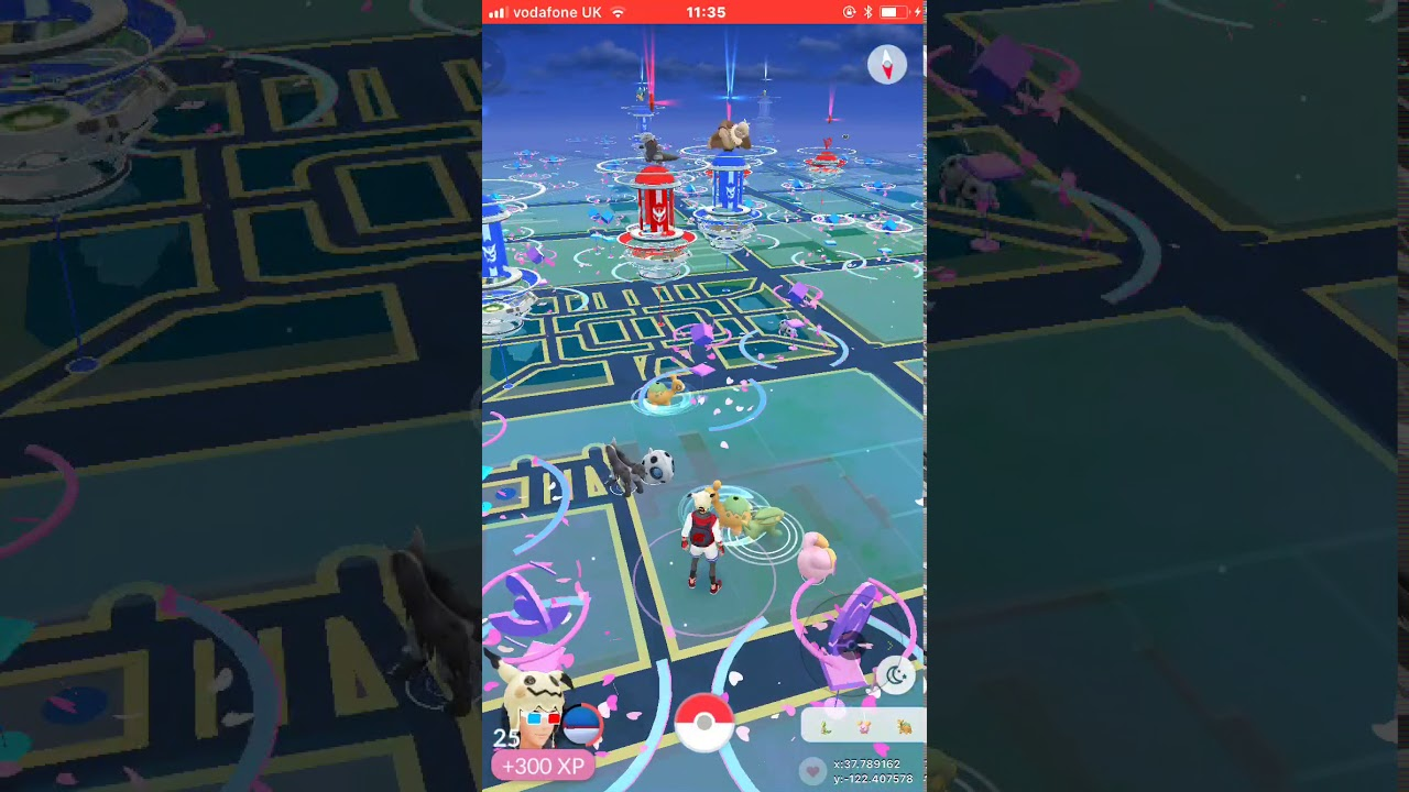 Pokemon Go   (2)   Spoofing In Union Square + Spoof safety and Draconius Go