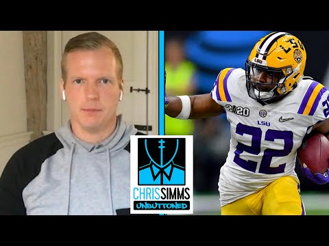 LSU's Clyde Edwards-Helaire explains modeling his game after Darren Sproles | Chris Simms Unbuttoned