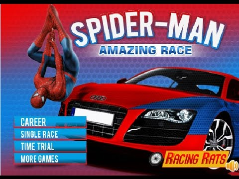 spiderman car racing games for kids complete level car games for children to play online
