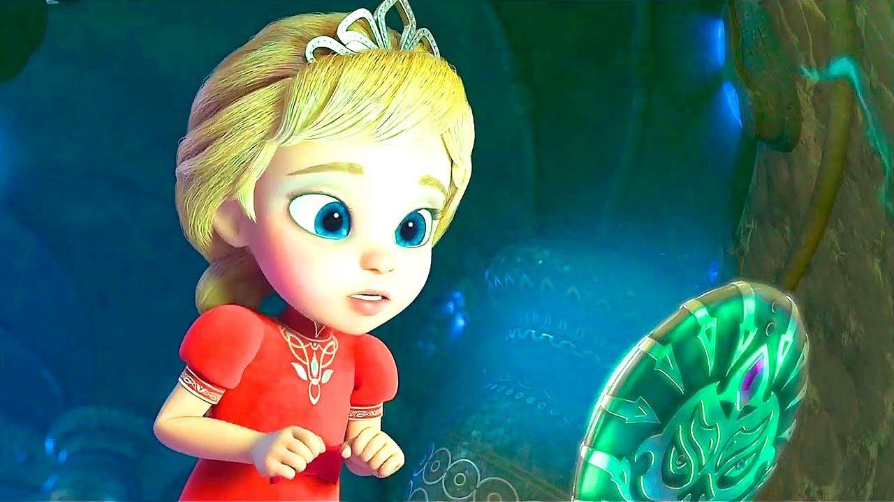 Мультфильм Принцесса и дракон: Тайна волшебного зеркала ...