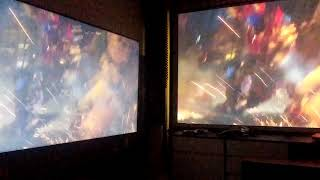 스크린과(120) 티비…