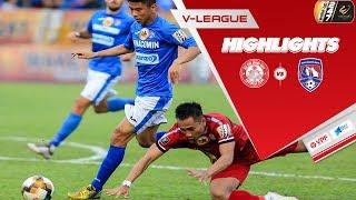 Highlights TP. HCM - Than Quảng Ninh | Kịch tính, siêu phẩm và phạt đền | VPF Media