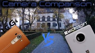 Microsoft Lumia 950 XL vs LG G4 Camera Comparison 4K/UHD [superHDview]