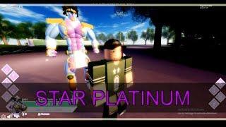 Jojo's Bizarre Story - Roblox - Star Platinum