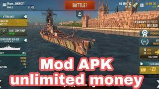 battle of warship unlimited gold apk video, battle of