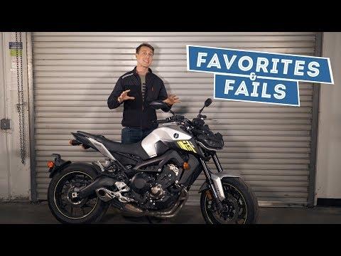 2017 Yamaha FZ-09 Favorites & Fails