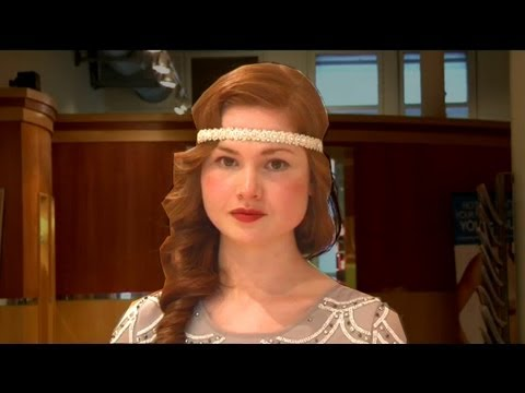 how to do your hair 1920s style get great gatsby hair 1920s wave and headband 7829