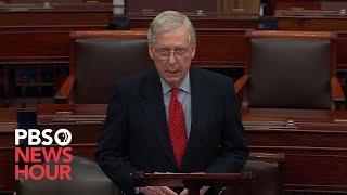 WATCH: McConnell criticizes Democrats amid Iran tensions, impeachment