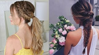 Beautiful hairstyle for Long Hair ★ Hairstyle video tutorial ★ Everyday hairstyles |Part-7