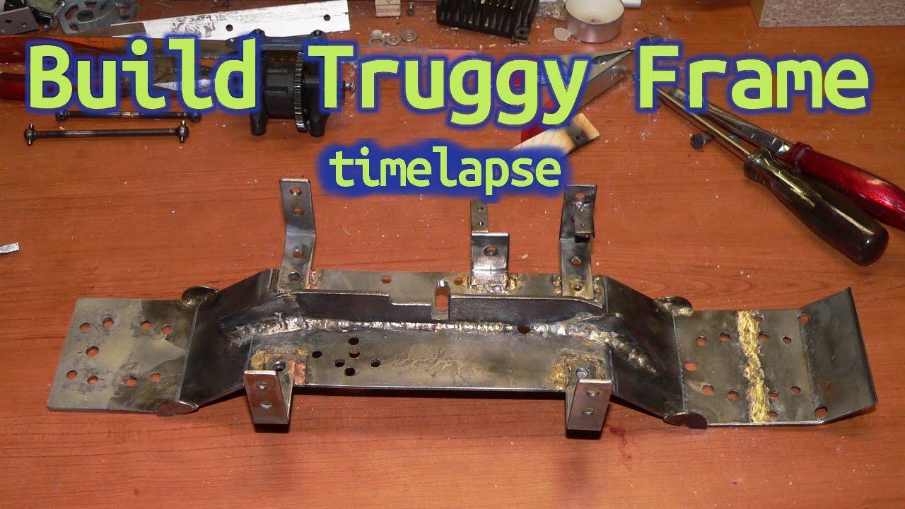 How to DIY Build Truggy Frame - timelapse - RC Car step3 - YouTube