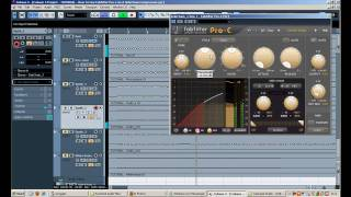 tutorial how to use fabfilter s pro c compressor as a sidechain compressor in steinberg s cubase 5