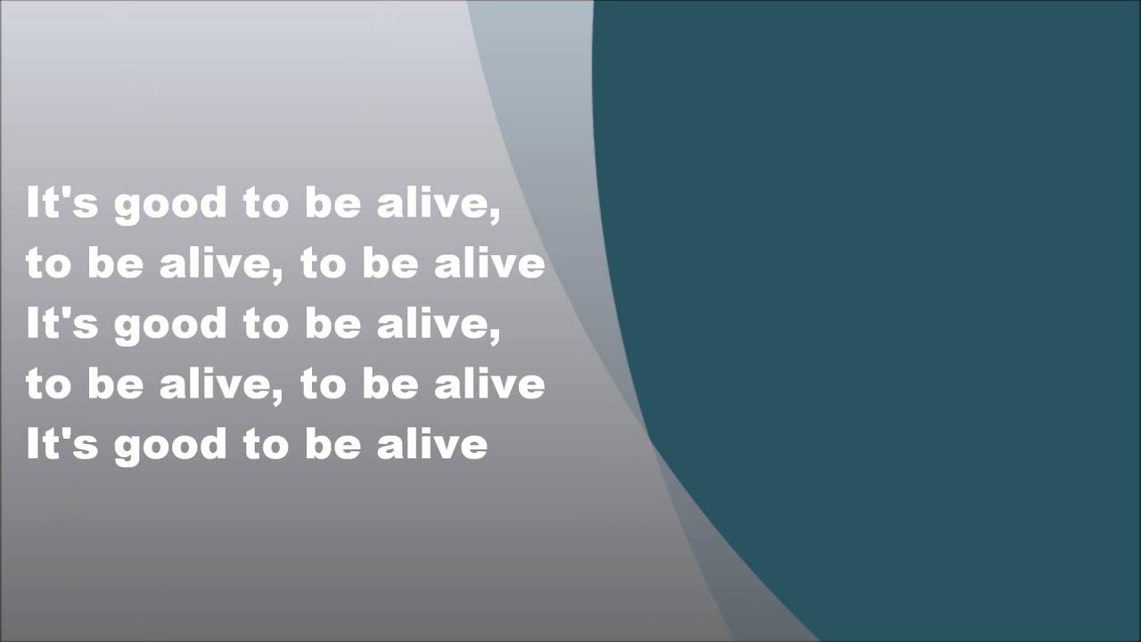 Patrick Hernandez - Born to be alive, Lyrics