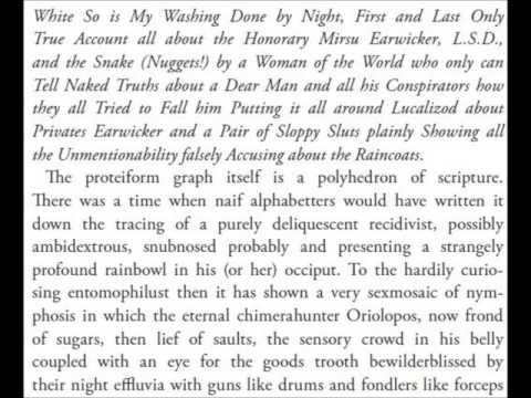 James Joyce || Finnegans Wake Book I Chapter 5 [audiobook]