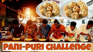 fastest golgappa eating challenge