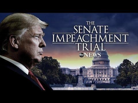 Impeachment Trial: Watch LIVE Senate Impeachment Trial Of President Donald Trump Day One