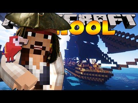 Minecraft School - HUNTING PIRATE'S TREASURE!