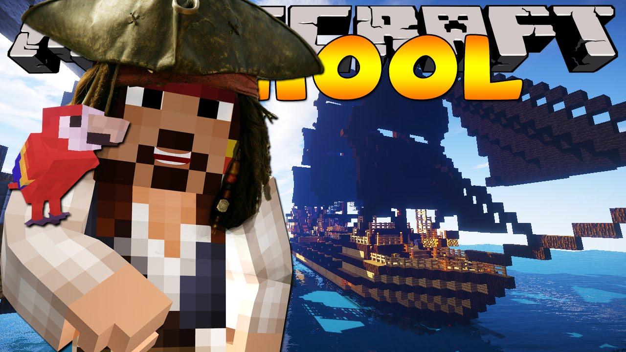 Майнкрафт пираты