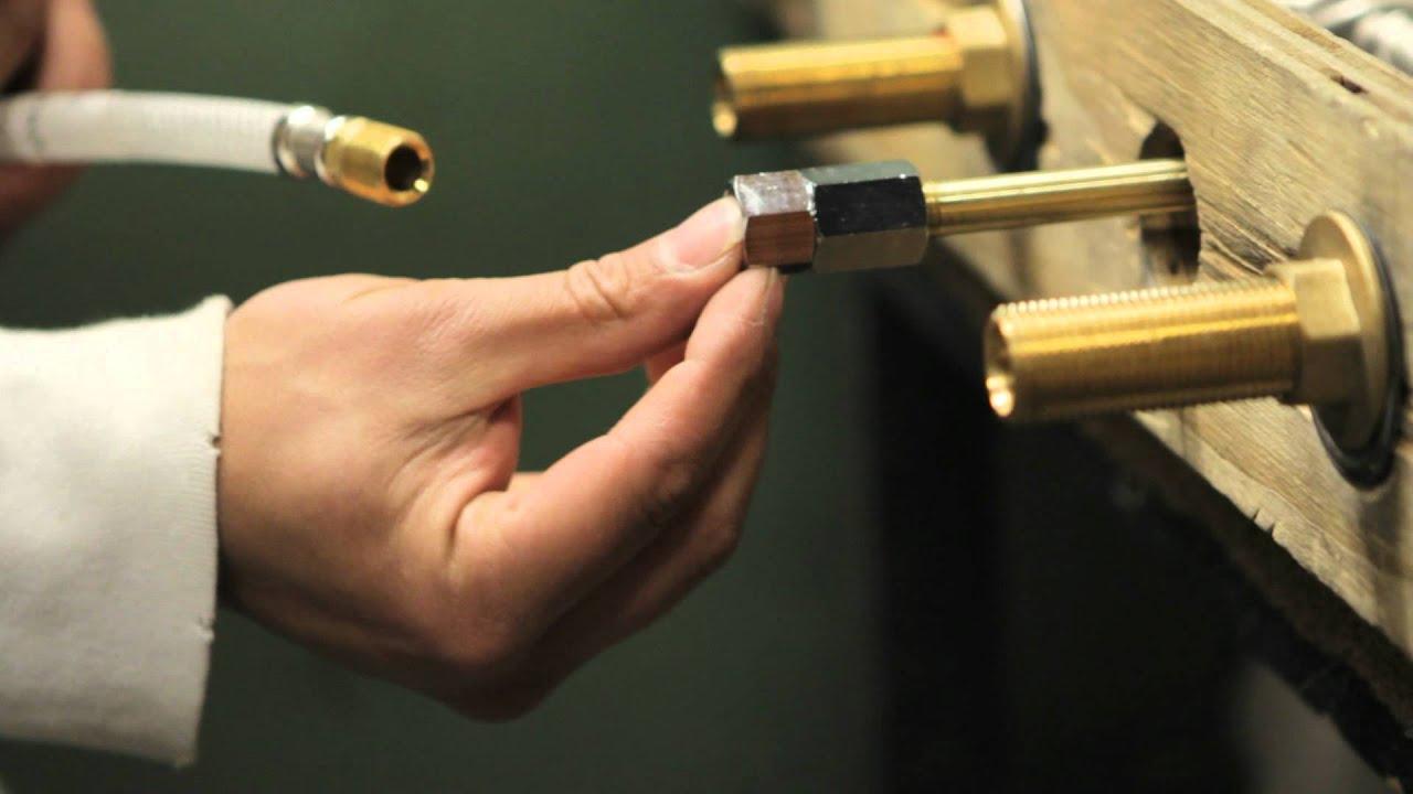 Web Video Series #3: Testing a Bridge Faucet - Vintage III Whitehaus ...