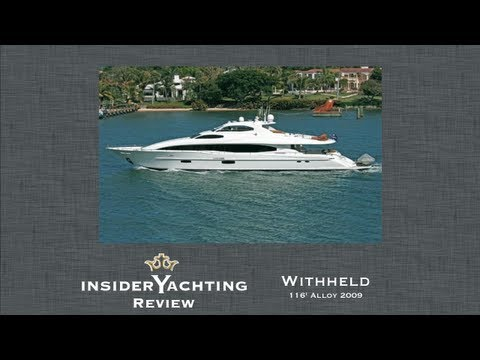 Lazzara 116' Yacht Review