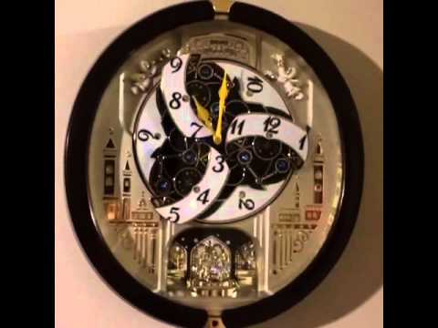 Seiko Melodies In Motion Clock 2013 Youtube