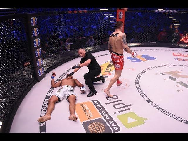 Roberto Soldic walk off KO | KSW 46