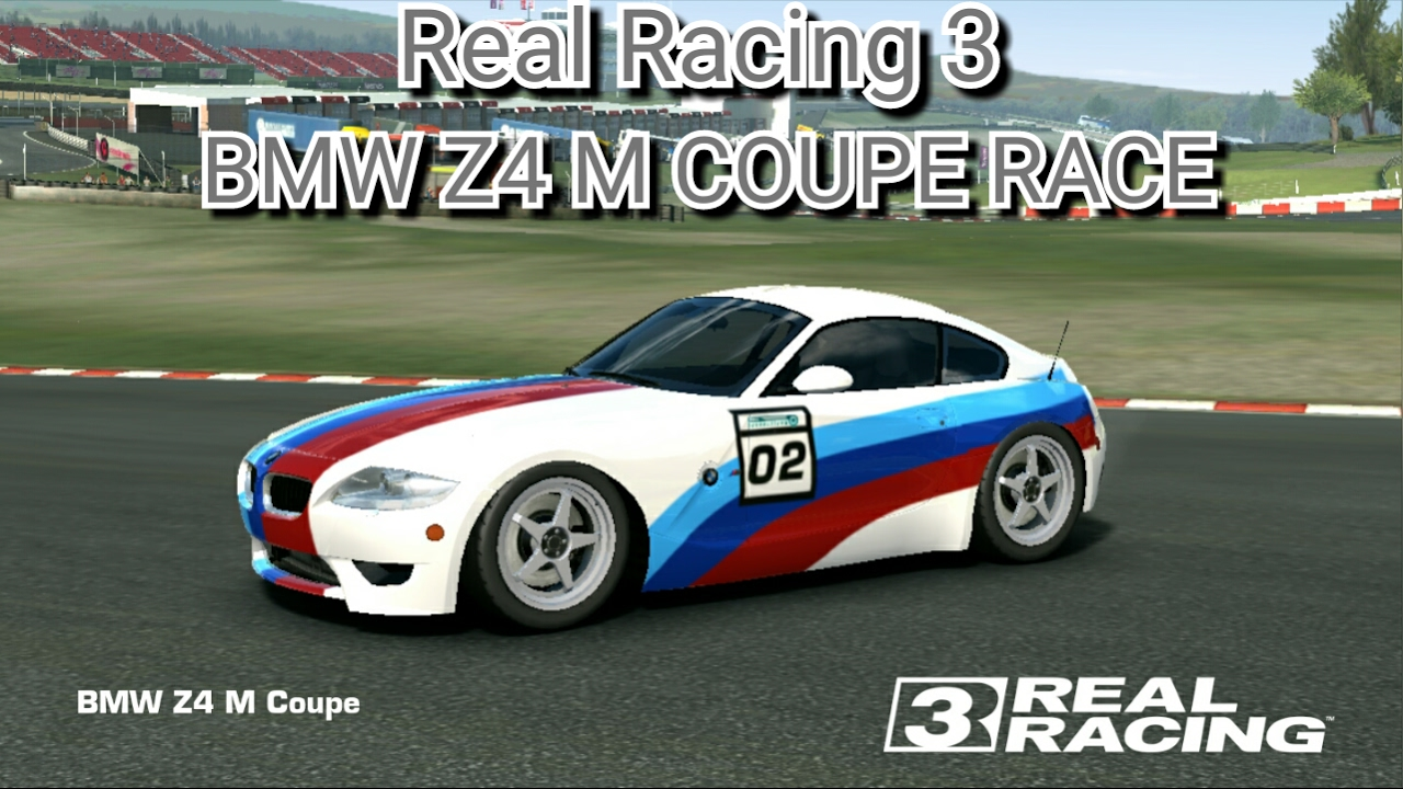 Real Racing 3 Bmw Z4 M Coupe Race Youtube
