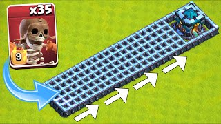 """Destroy ALL WALLS!! Super Wall Breakers  """"Clash Of Clans"""""""