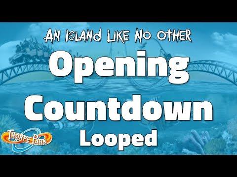 Thorpe Park - Opening Countdown (Looped)